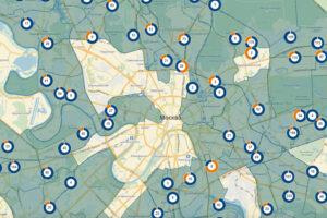 Кадастровая карта Москвы пополнилась 120 домами со старта программы реновации