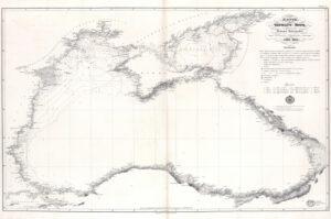 В новом атласе на геопортале РГО можно ознакомиться с историей берегов Чёрного моря