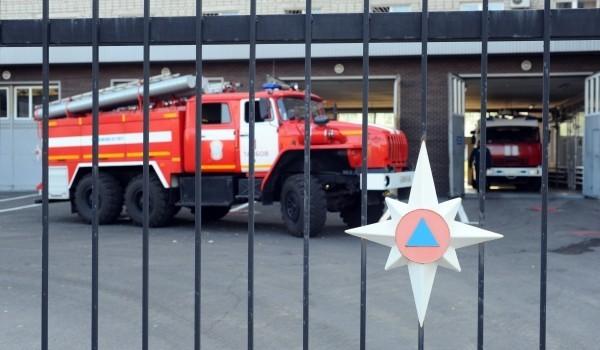 Пожарному депо присвоили  кадастровый номер в Новой Москве